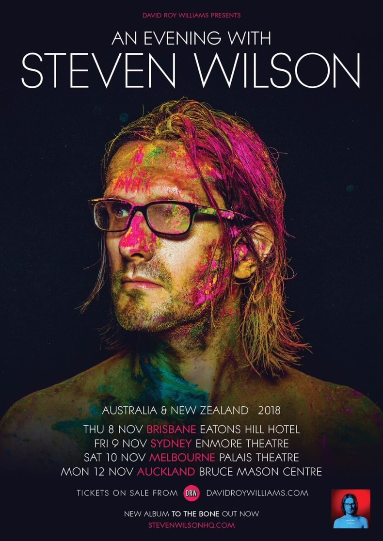 Wilson Aus - GIG REVIEW: An Evening With STEVEN WILSON Live at The Enmore Theatre, Sydney