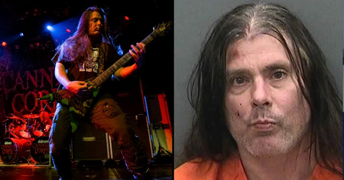 cannibal corpse pat obrien - CANNIBAL CORPSE Have Released An Official Statement on Pat O'Brien Arrest