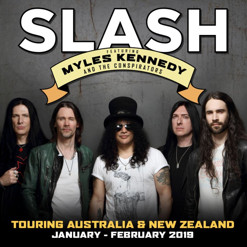 Slash Myles - GIG REVIEW: Slash Featuring Myles Kennedy and the Conspirators & Devilskin Live at Brisbane Convention and Exhibition Centre