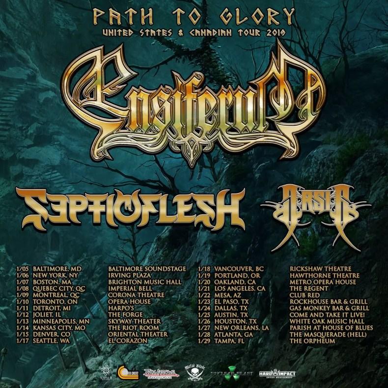 ensiferum tour 2019 - GIG REVIEW: Ensiferum, Septicflesh & Arsis Live at The Forge, Joliet, IL