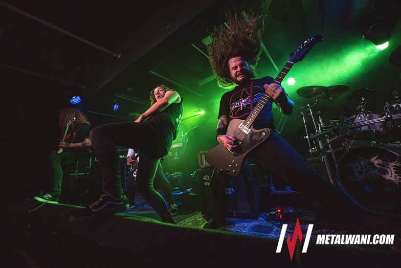 Baest 2215 - GIG REVIEW: DECAPITATED, DYSCARNATE & BAEST Live at O2 Islington Academy, London