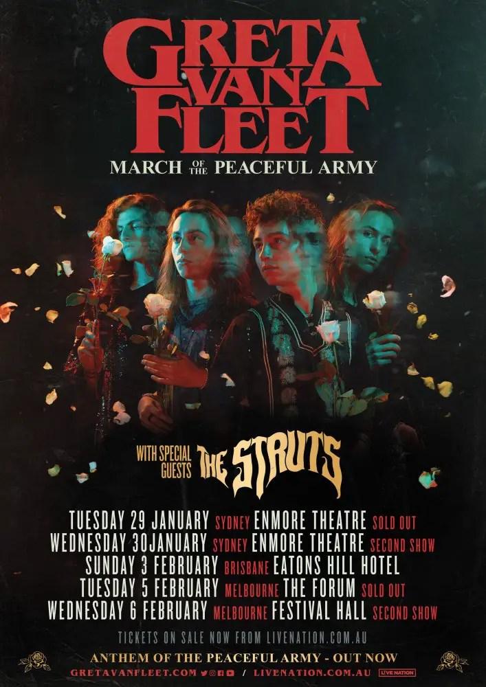 Greta Aus - GIG REVIEW: An Evening With GRETA VAN FLEET Live at The Enmore Theatre, Sydney
