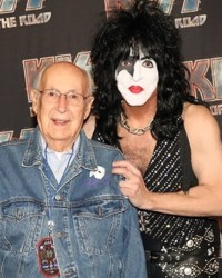 paul stanley and dad - Paul Stanley's 98-Year-Old Father Attends KISS Concert In LA
