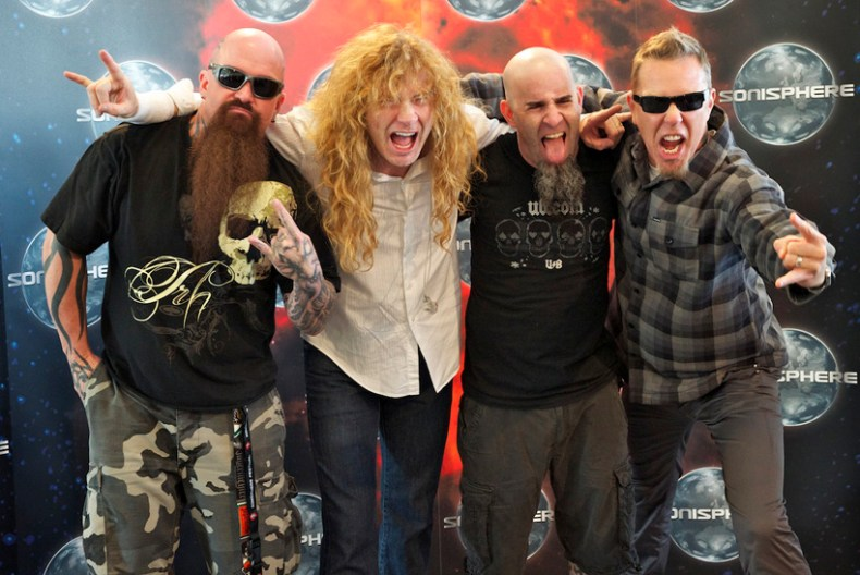 """BigFour - METALLICA Member Breaks Silence About Possible """"The BIG 4"""" Tour"""