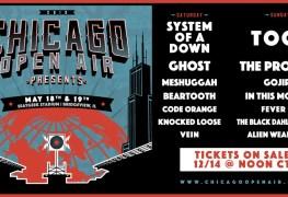 COA 2019 - FESTIVAL REPORT: CHICAGO OPEN AIR Announce Massive Lineup For 2019 Edition