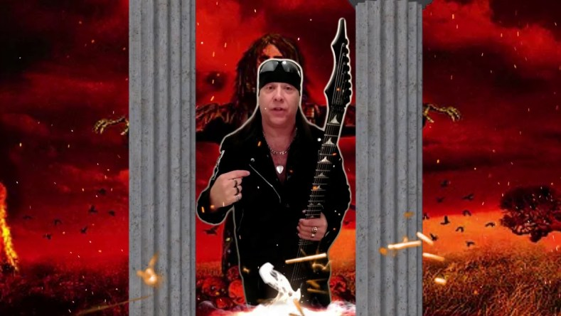DAVID SHANKLE - Former MANOWAR Guitarist David Shankle Is Battling Cancer; Releases An Emotional Statement