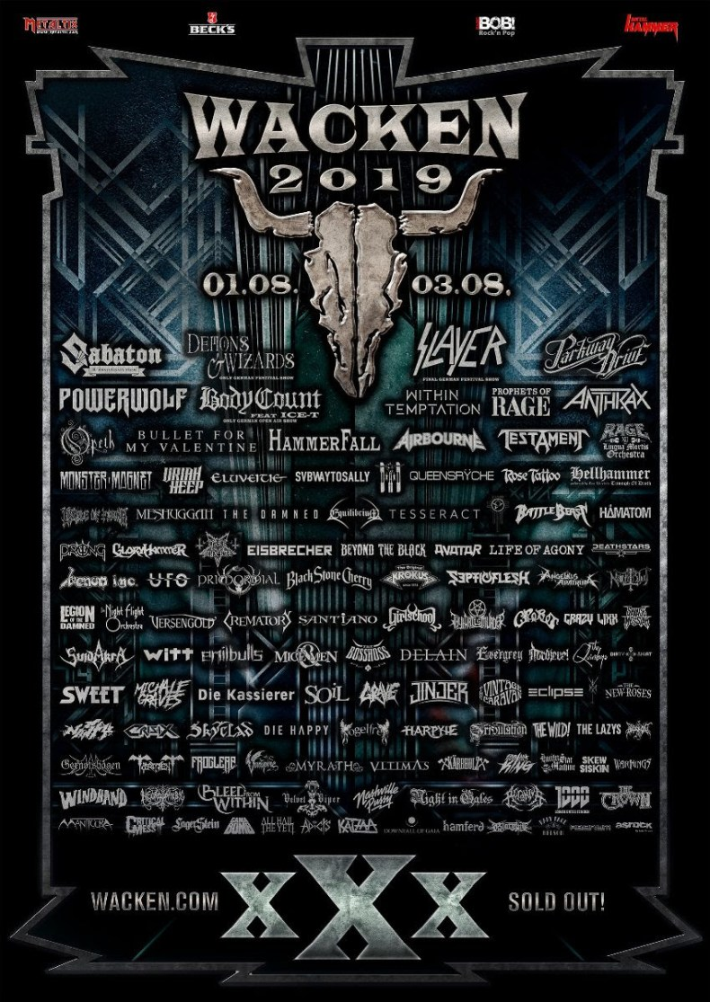 WOA 19 - FESTIVAL REPORT: Wacken Open Air Adds 26 New Bands For 30th Anniversary Edition