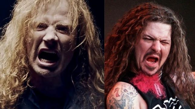 """dave mustainedimebag darrell - DAVE MUSTAINE Remembers Dimebag Nearly Joining MEGADETH: """"He Was a Better Guitar Player Than I Am"""""""