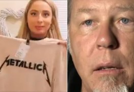 hetfield - Woman Shows Great Love for METALLICA T-Shirts, Has No Idea About the Band, Calls Them 'Metallic'