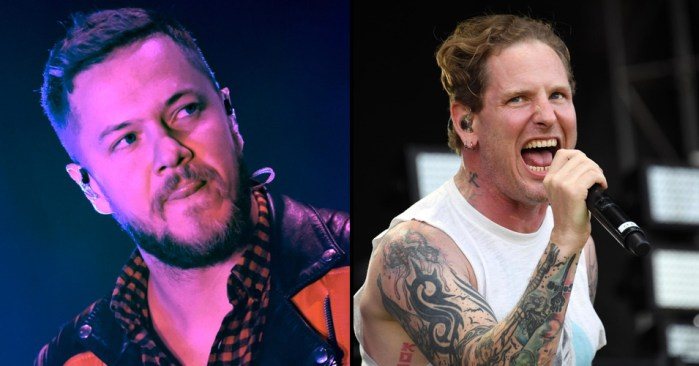 """imagine dragons corey taylor - IMAGINE DRAGONS Frontman Reacts to COREY TAYLOR & More Artists Trashing His Band: """"It Has Added to the Depression I've Dealt With Since Youth"""""""