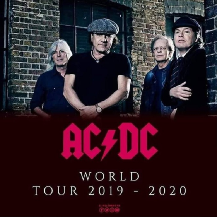 ACDC - UPDATE: AC/DC To Tour Europe This Year; Live Dates Leaked