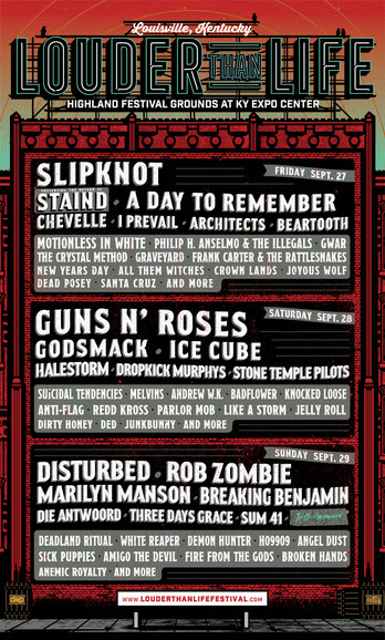 LTL 1 - FESTIVAL REPORT: LOUDER THAN LIFE Announce Epic Lineup For 2019 Edition