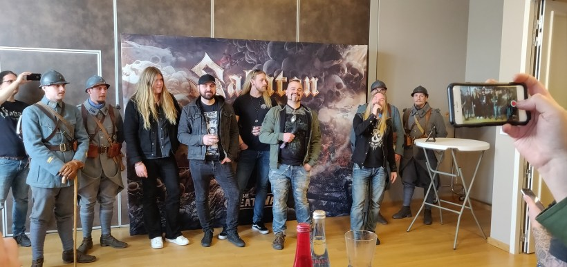 Sabaton 1 - EXCLUSIVE: A Weekend In Verdun With SABATON