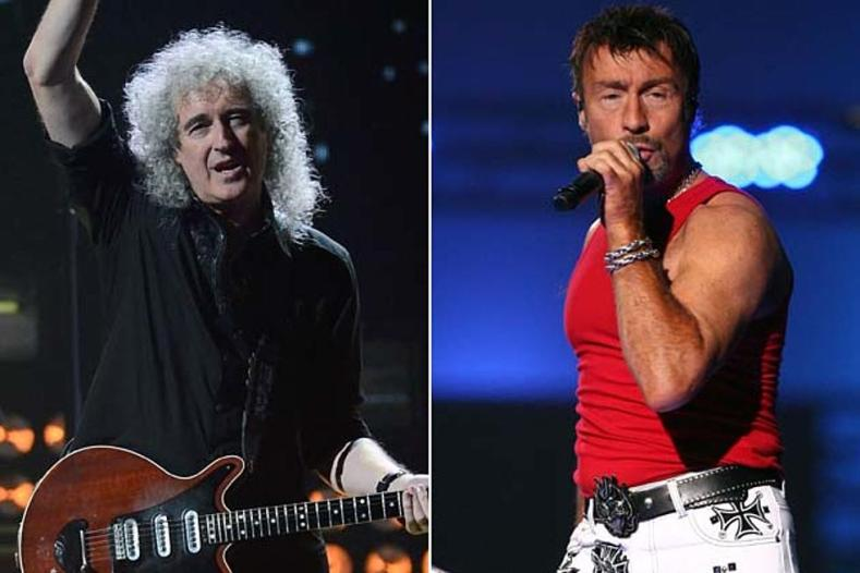"""Brian May Paul Rodgers - QUEEN Members on Five-Year Stint With Paul Rodgers: """"Not A Right Fit"""""""