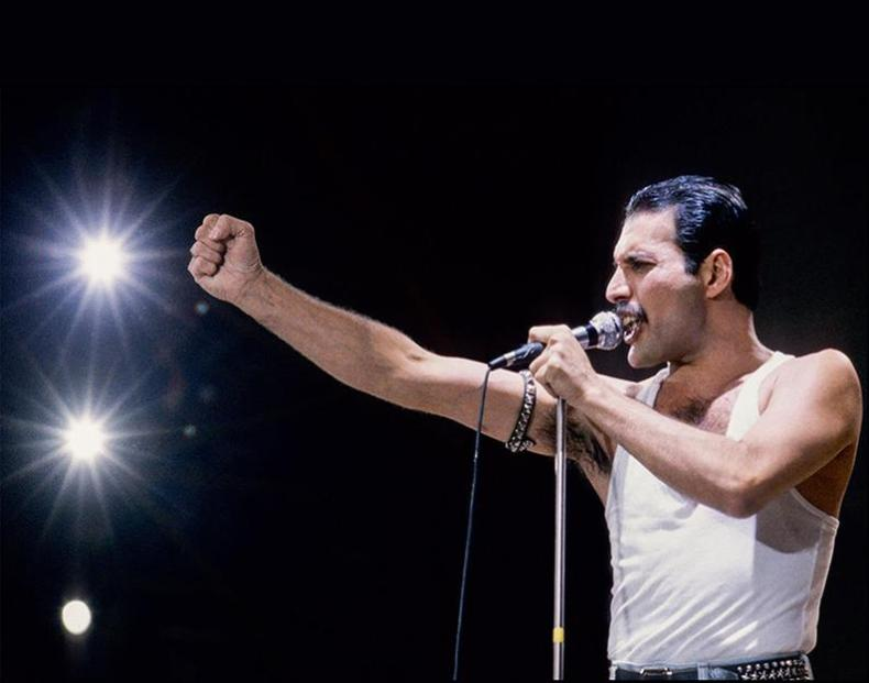 Freddie Mercury - Rock and Roll All-Time Legends