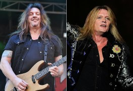 "Snake Sabo Sebastian Bach - SKID ROW Guitarist Slams Sebastian Bach: ""Reunion Talks With Him Were A Miserable Experience"""