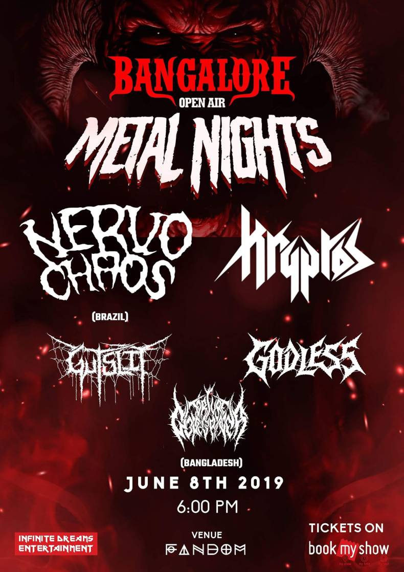 boa metal night 2019 - GIG REVIEW: Bangalore Open Air Metal Nights Live at Bangalore, India