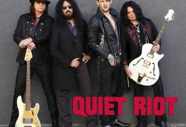 Quiet Riot 1 - QUIET RIOT Parts Ways With Singer James Durbin; Welcomes Back Jizzy Pearl