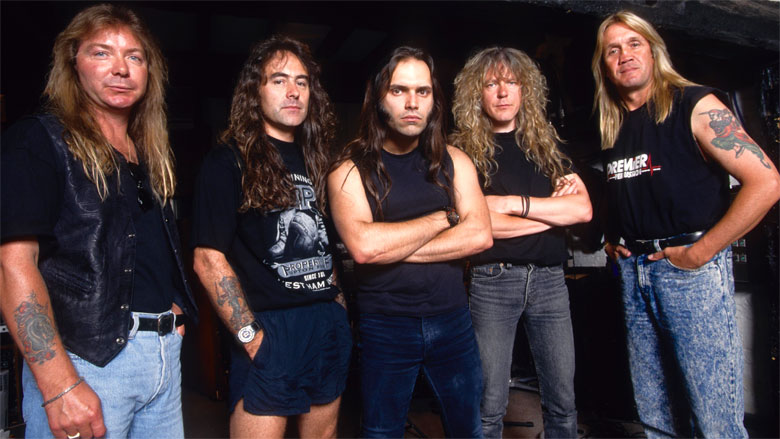 ironmaiden - BLAZE BAYLEY Says His Involvement In IRON MAIDEN Lead To The Start Of The Progressive Era