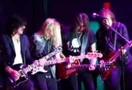 Ace Sebastian Warren - Watch Ace Frehley, Sebastian Bach, Warren DeMartini & Gilby Clarke Perform Classic Songs