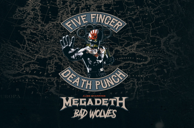 FFDp Megadeth - MEGADETH To Open For FIVE FINGER DEATH PUNCH? Details Are Out