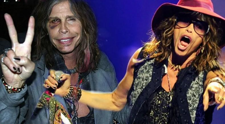 Steven Tyler 1 - Watch AEROSMITH Frontman Steven Tyler Fall On Stage At Maryland Concert