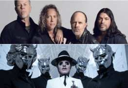 "metallica and ghost - GHOST's Tobias Forge On METALLICA's Ticket Controversy: ""It Affects A Fan Negatively"""