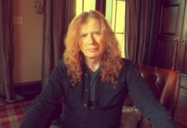 Dave Mustaine - Watch Dave Mustaine Announce He Is '100% Free Of Cancer'