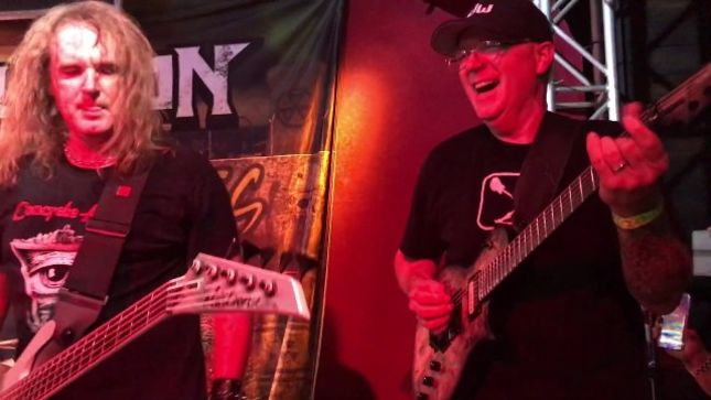 chris polanddavid ellefson - David Ellefson & Chris Poland Reunite To Play Classic MEGADETH Songs Live