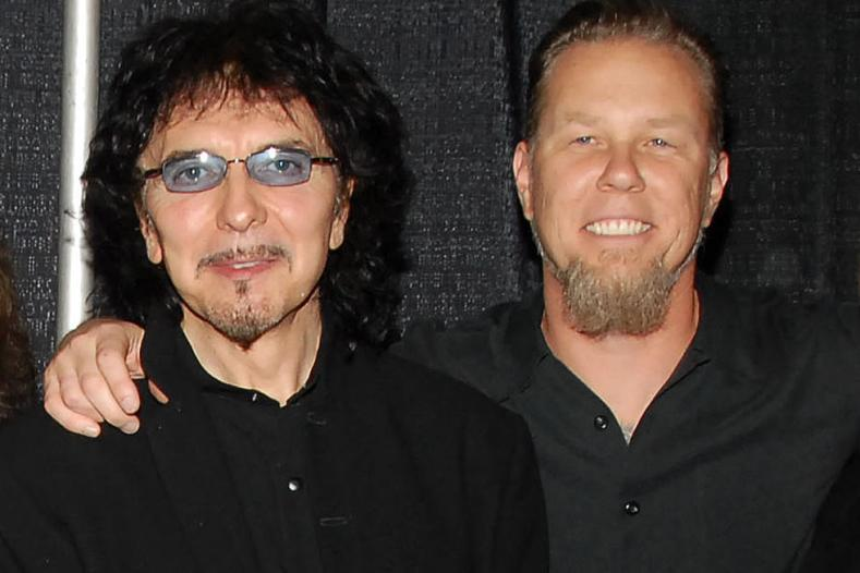 TonyJames - Tony Iommi Has Reached Out To METALLICA's James Hetfield After Rehab Announcement