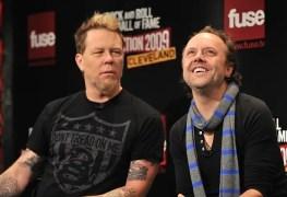 """james hetfield and lars ulrich - METALLICA's Lars Ulrich Addresses James Hetfield Rehab: """"Time For Self Healing"""""""
