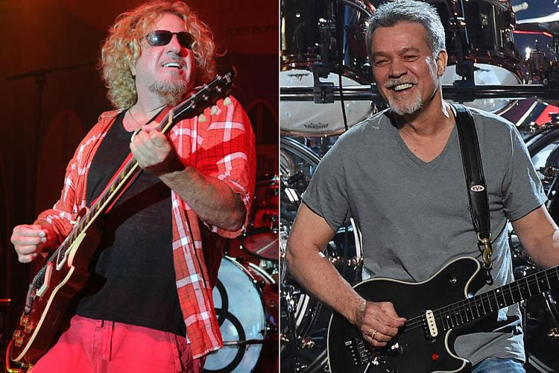 Sammy Hagar and Eddie Van Halen - Sammy Hagar's Advice to Fans Still Mourning Eddie Van Halen