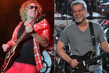 Sammy Hagar and Eddie Van Halen - SAMMY HAGAR Reveals A Never Seen Before Iconic Photo With EDDIE VAN HALEN