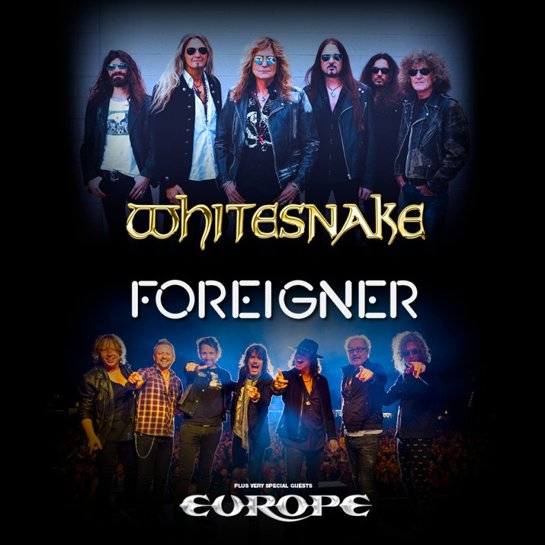 Foreigner Tour 2020.Whitesnake Foreigner And Europe Announce Highly Anticipated
