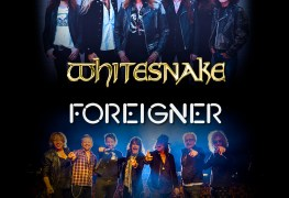 Whitesnake and Foreigner - WHITESNAKE, FOREIGNER and EUROPE Announce Highly Anticipated Tour Dates In 2020