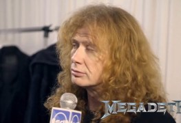 Dave Mustaine - MEGADETH Mastermind Dave Mustaine Mourns Death Of Ray Burton