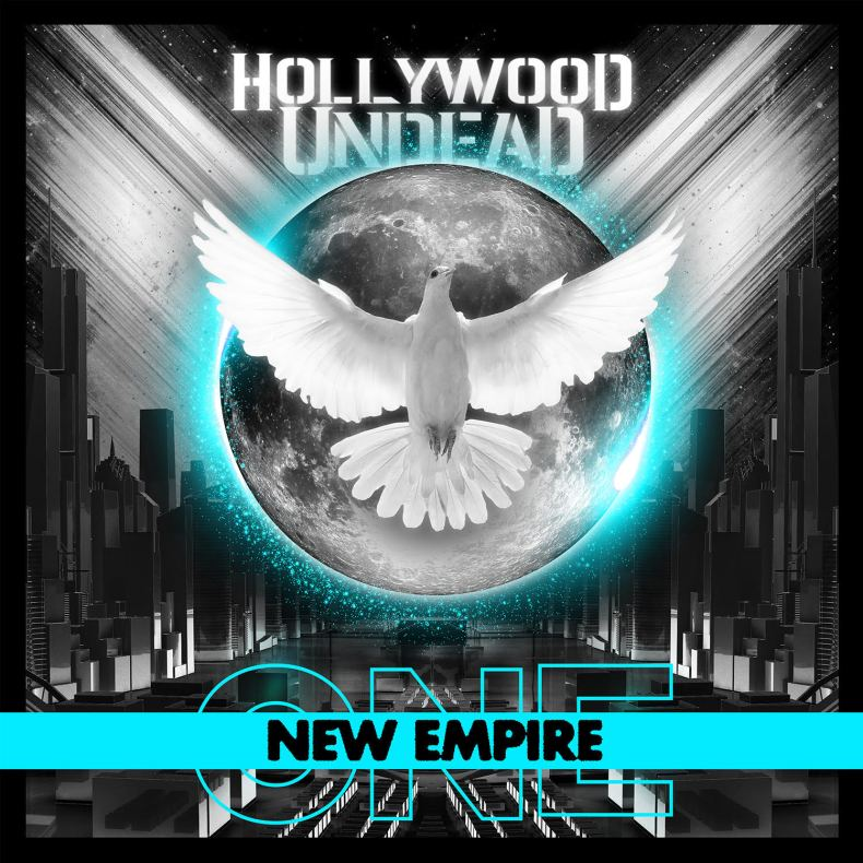 "HU Album Art - REVIEW: HOLLYWOOD UNDEAD - ""New Empire, Vol. 1"""