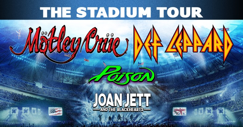 MotleyCrue DefLeppard tour - Want To Get Refund? MOTLEY CRUE & DEF LEPPARD Announce New Policy For 2021 Tour Dates