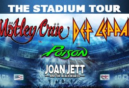 "MotleyCrue DefLeppard tour - JOAN JETT Says ""The Stadium Tour"" Will Not Be Cancelled; It Will Happen Once COVID-19 Ends"