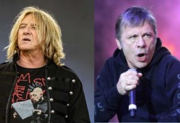 Joe Elliott Bruce Dickinson - Joe Elliot Says DEF LEPPARD & IRON MAIDEN Are The Only Who Survived The NWOBHM Tag