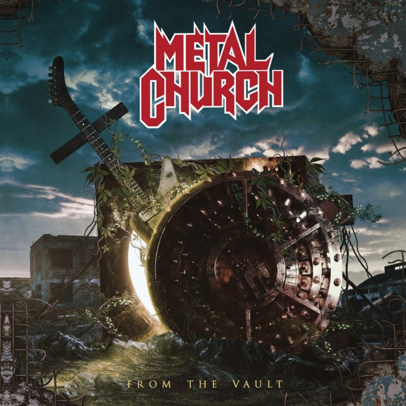 """fromthevault - REVIEW: METAL CHURCH - """"From The Vault"""""""