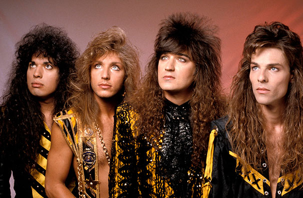 Stryper - 12 Awkward 80s Glam/Hair Band Photos That Are Bad Yet So Good