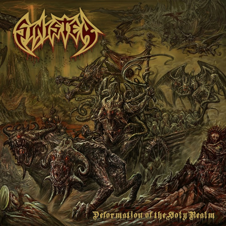 """Sinister - REVIEW: SINISTER - """"Deformation Of The Holy Realm"""""""