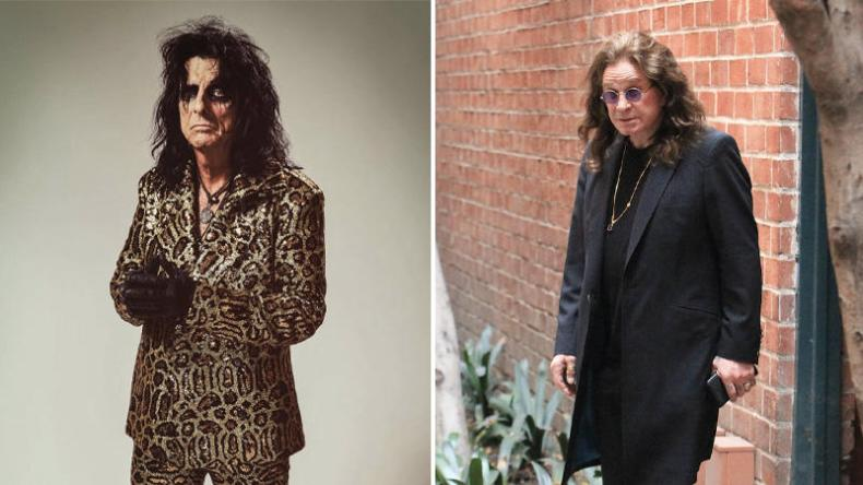 Alice Ozzy - Alice Cooper, Robert Plant, Ozzy Osbourne & Others Try To Save Live Music