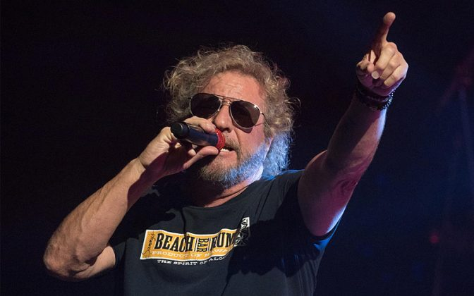 Sammy Hagar - SAMMY HAGAR Hints Return To Stage This October
