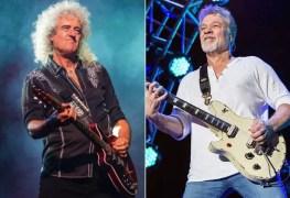 brian may queen eddie van halen - QUEEN's Brian May Expresses His Regret About VAN HALEN Legend Eddie Van Halen