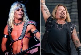 vince neil - MOTLEY CRUE's Vince Neil Looks Fit & Ready For 'The Stadium Tour' In A New Photo With His Father