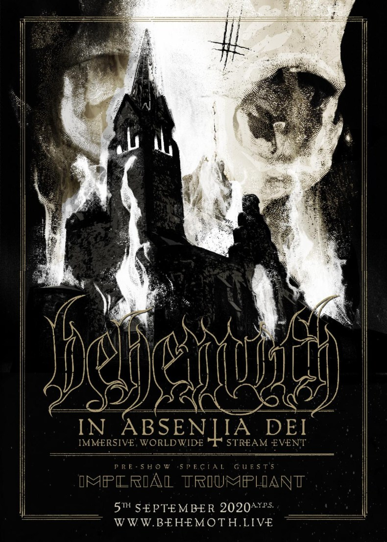 "Behemoth - GIG REVIEW: An Evening With BEHEMOTH - ""In Absentia Dei"""