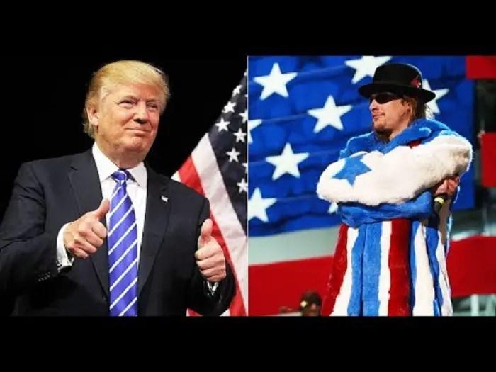 Kid Rock - Watch KID ROCK Butcher His Performance At Donald Trump Rally In Michigan