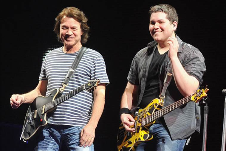 wolfgang eddie - WOLFGANG VAN HALEN Shoots Down 'Sh*tty Lie' About VAN HALEN's Future: You Are 'Hurting Me And My Family'